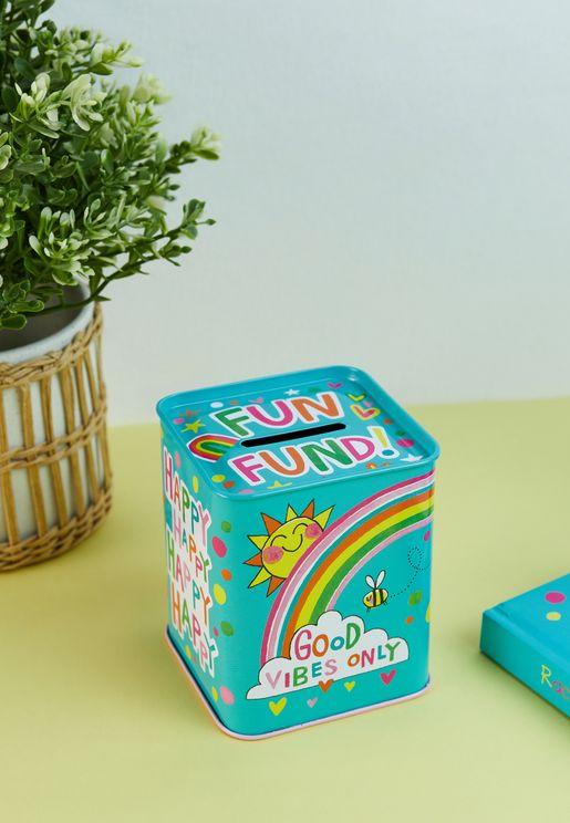 Fun Fund & Good Vibes Only Money Box