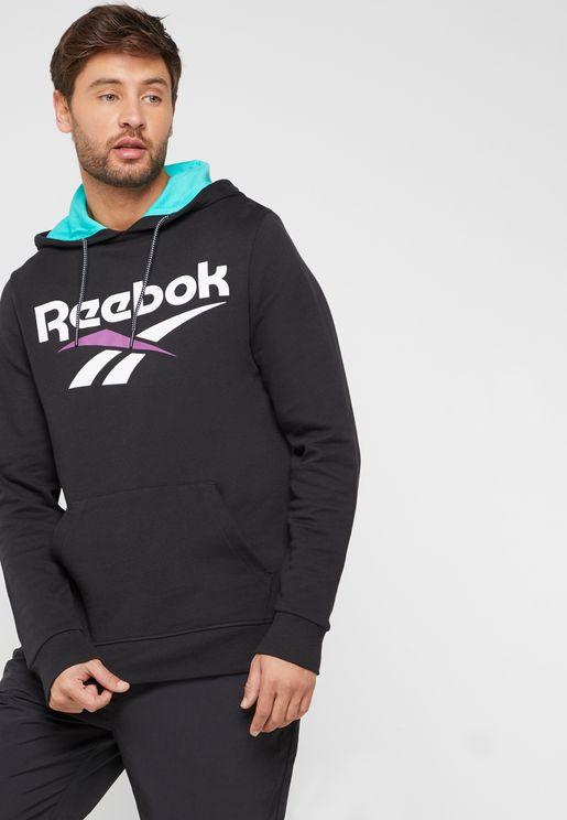 652eda61007 Reebok Hoodies and Sweatshirts for Men