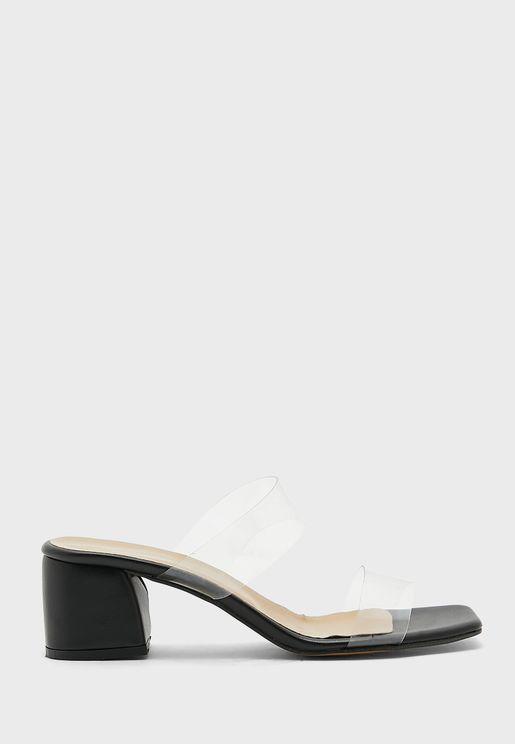 Casual Mid Heel Sandals