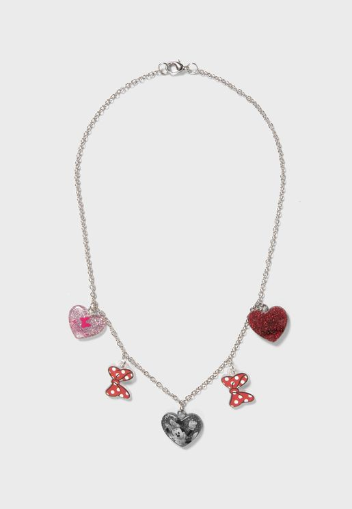 Kids Heart Pendant Necklace