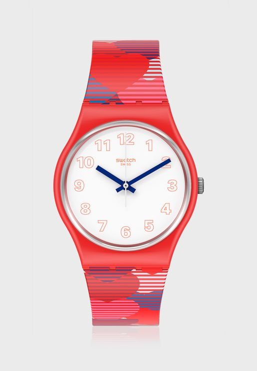 Heart Lots Analog Watch