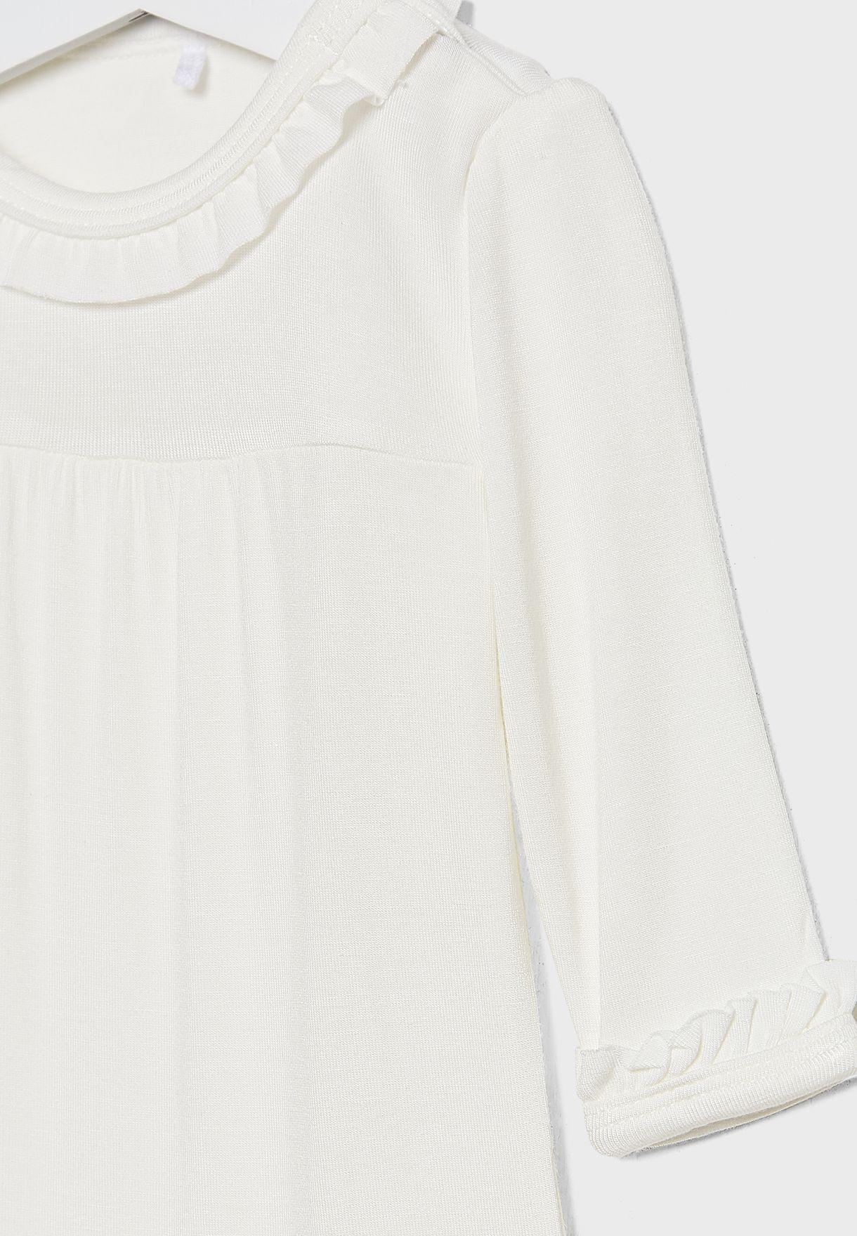 Infant Pleated Bodysuit