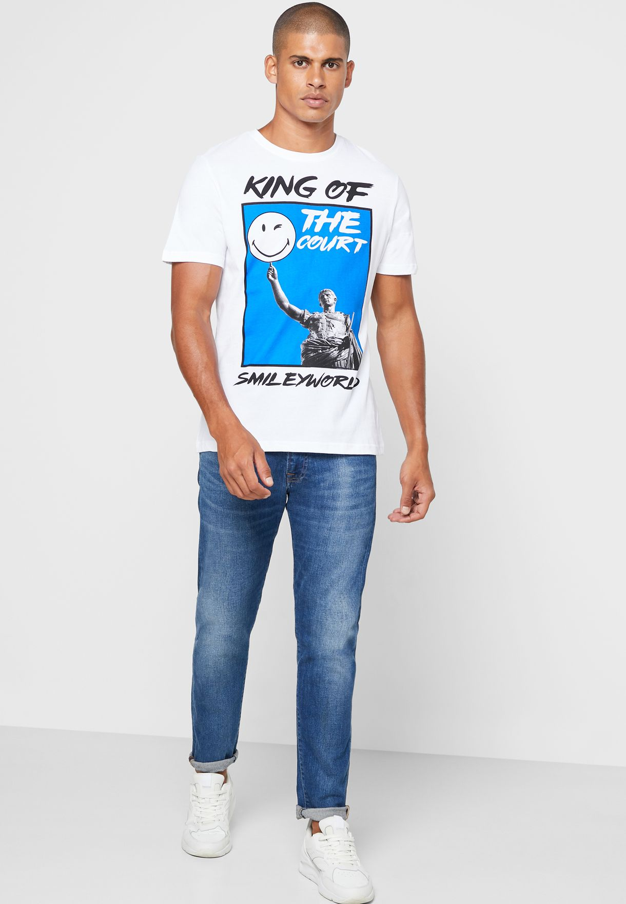 King Of The Court Crew Neck T-Shirt