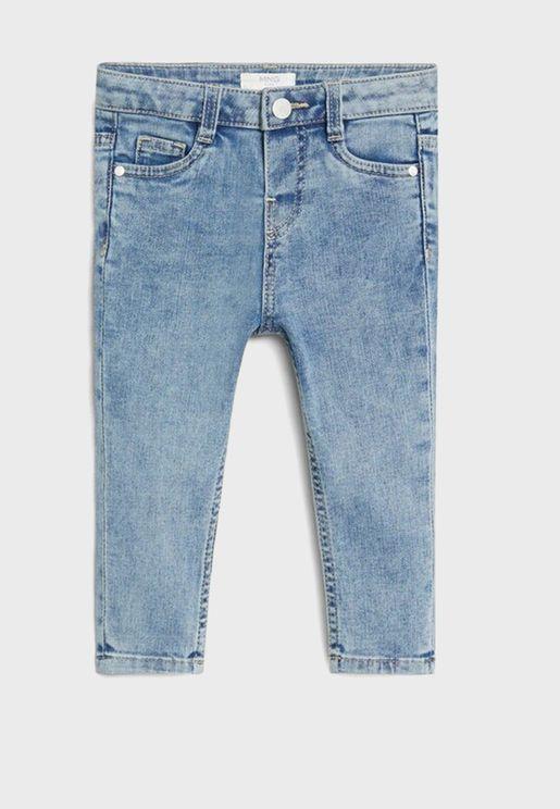 جينز سليم للبيبي