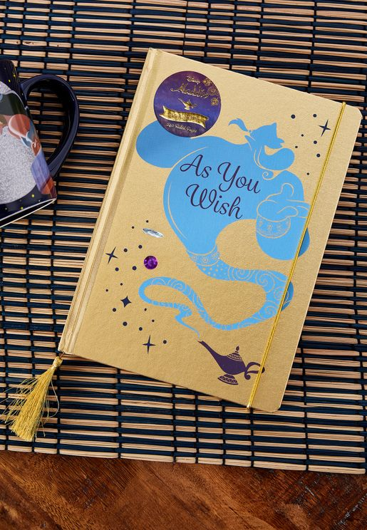 A5 Disney Aladdin Notebook