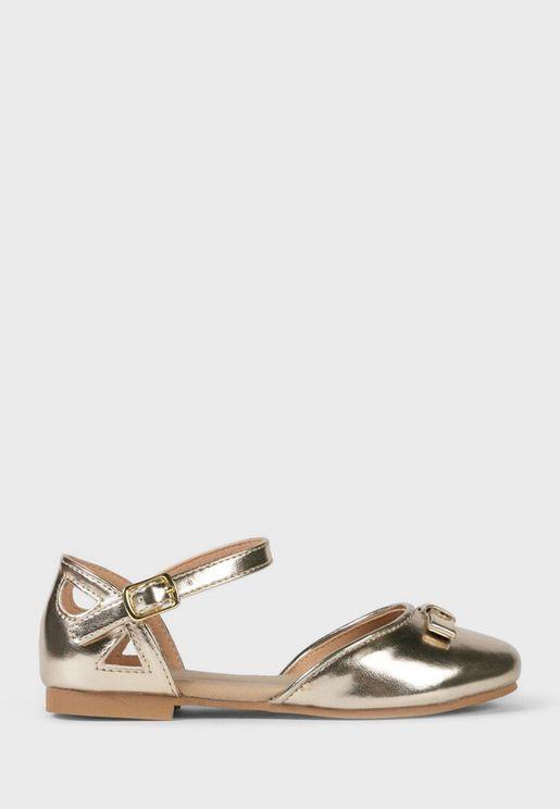 Kids Bow Detail Sandal