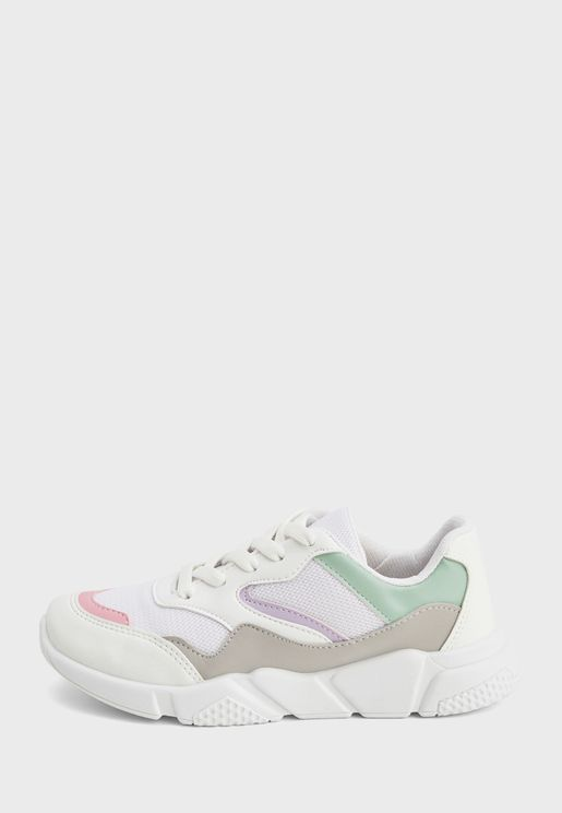 Youth Color Block Sneaker