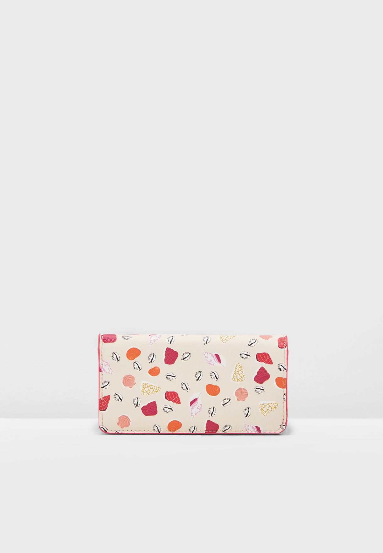 Caracola Seashell Printed Wallet