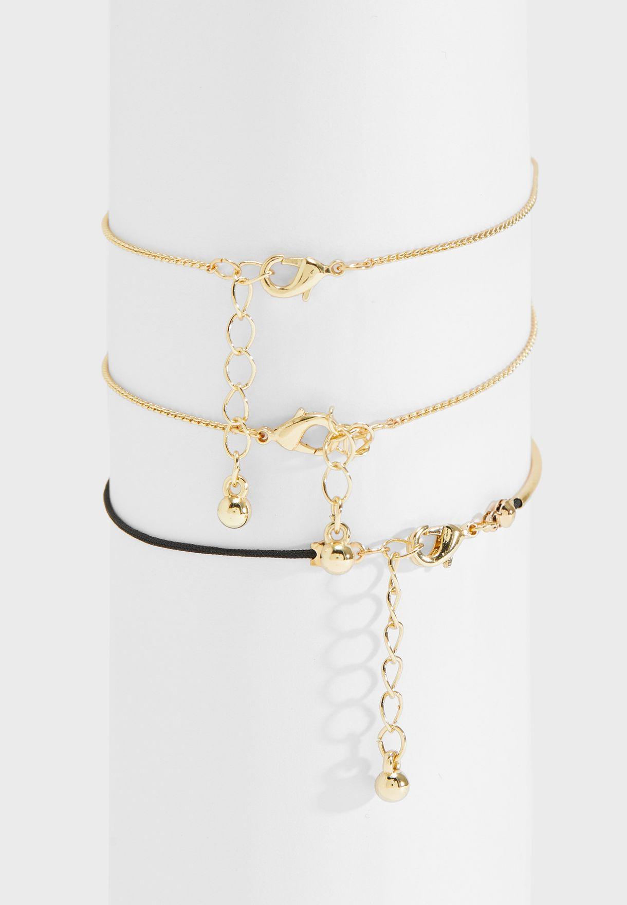 Multipack String Bracelets