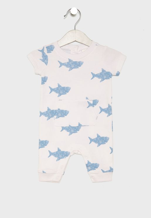 Infant Shark Bodysuit