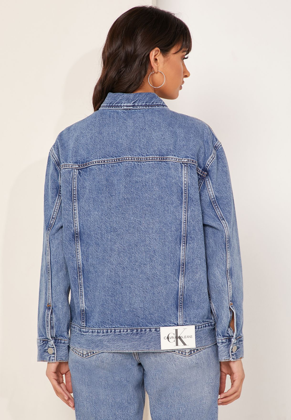 Oversized Iconic Denim Jacket