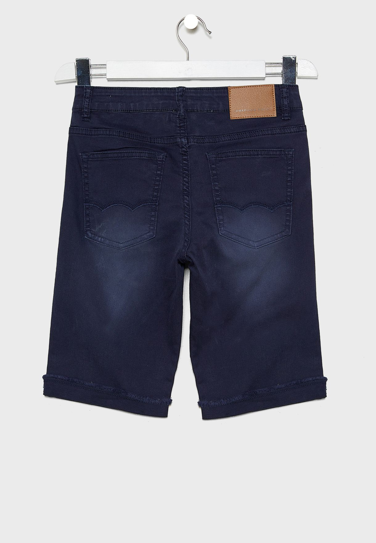 Kids Casual Denim Shorts