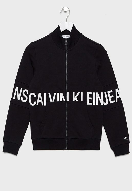 Kids Logo Track Jacket