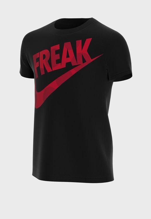 Youth Giannis Freak Dots T-Shirt