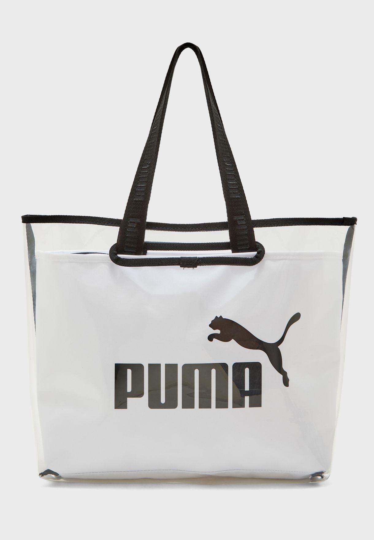 حقيبة تسوق شفافة