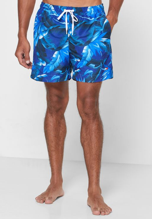 Drawstring Swim Shorts
