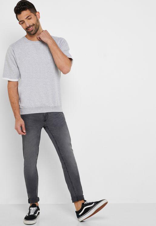 Mid Wash Super Skinny Fit Jeans