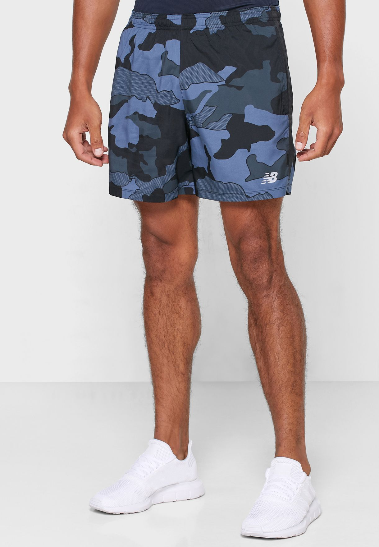 """5"""" Accelerate Printed Shorts"""