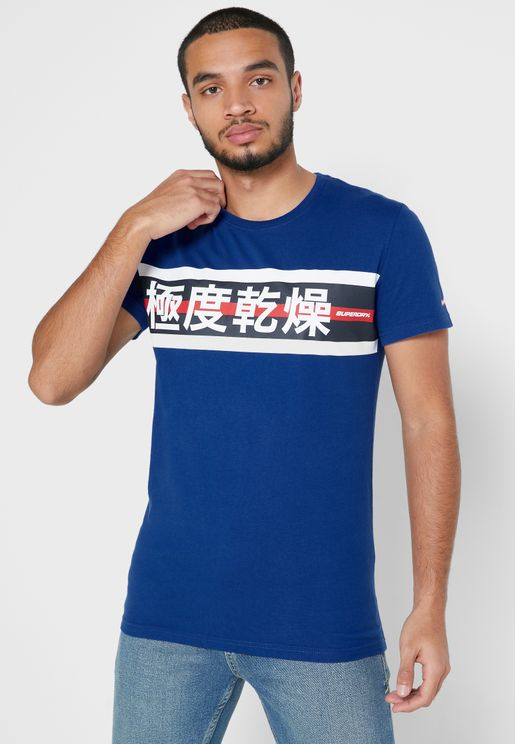 Trophy Graphic Crew Neck T-Shirt