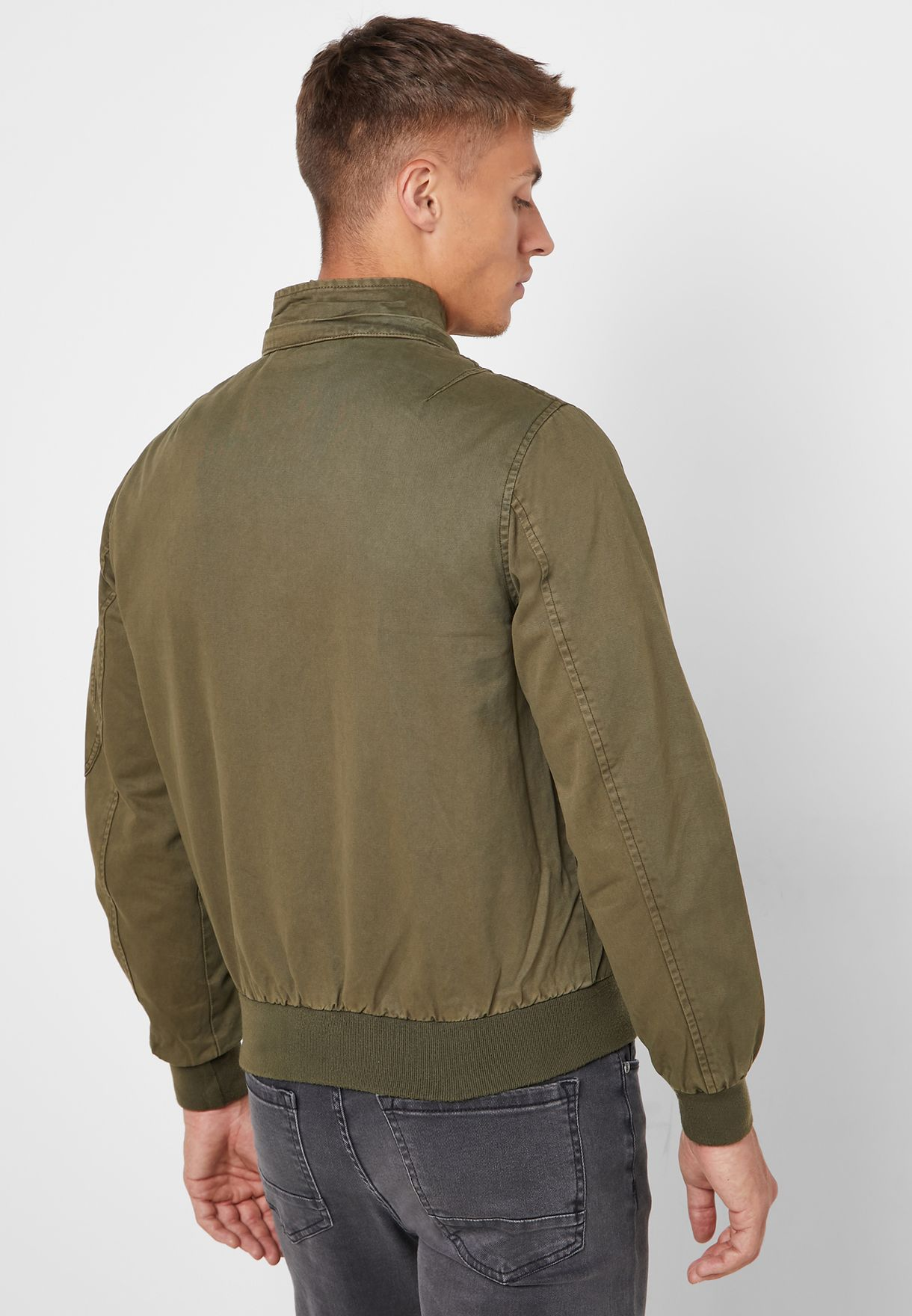 Hooded Short Parka Jacket