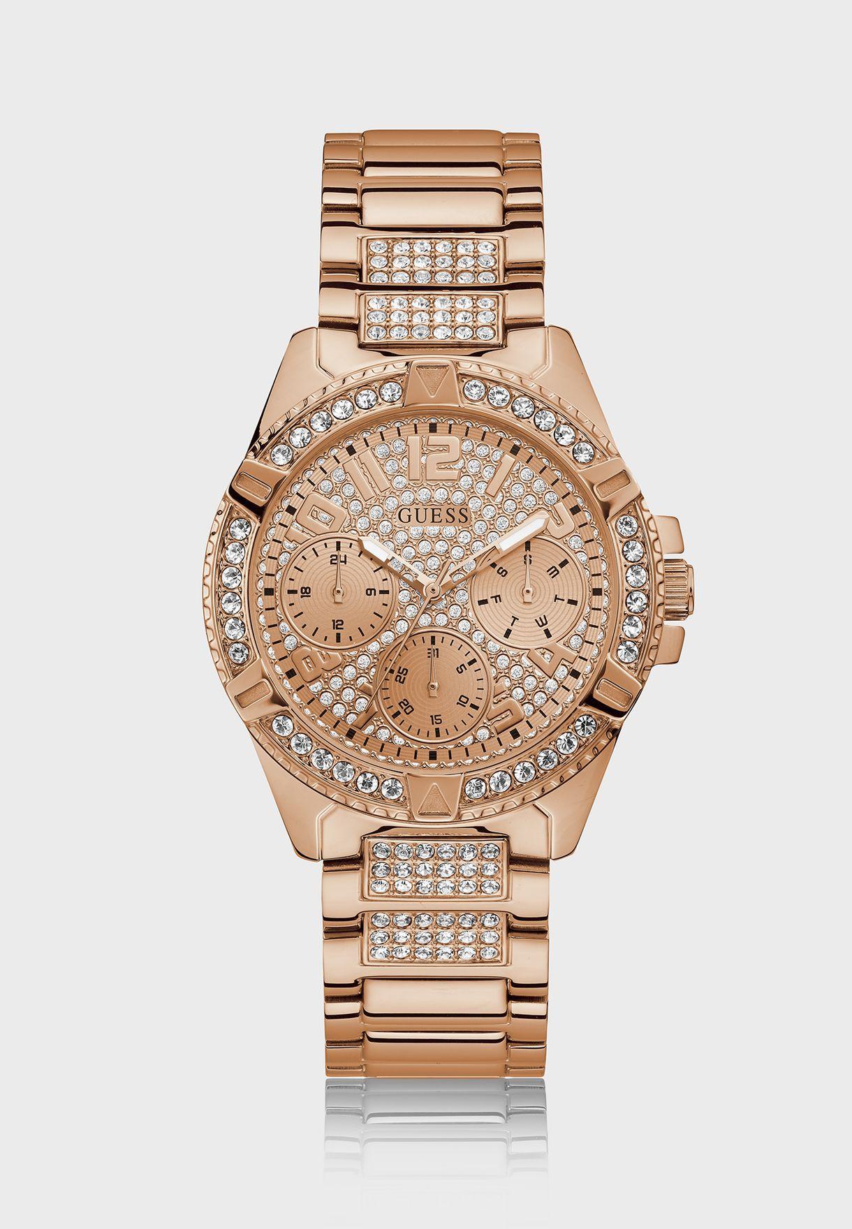 Crystal Detailing Glitz Watch