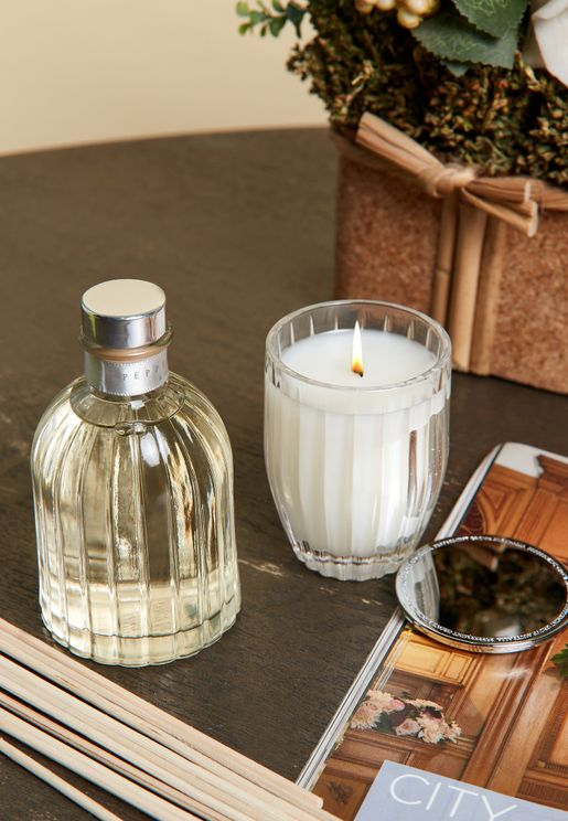Patchouli & Bergamot - Small Candle & Diffuser Gift Set