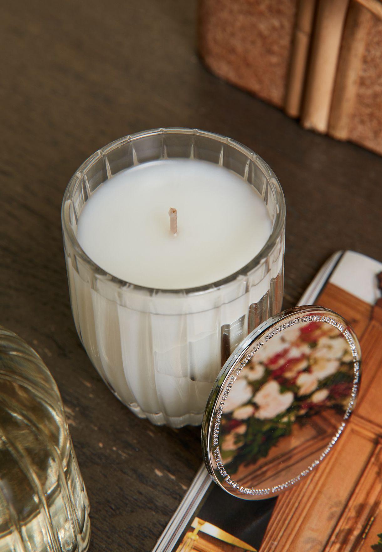 شمعة وموزع رائحة - باتشولي وبرغموت