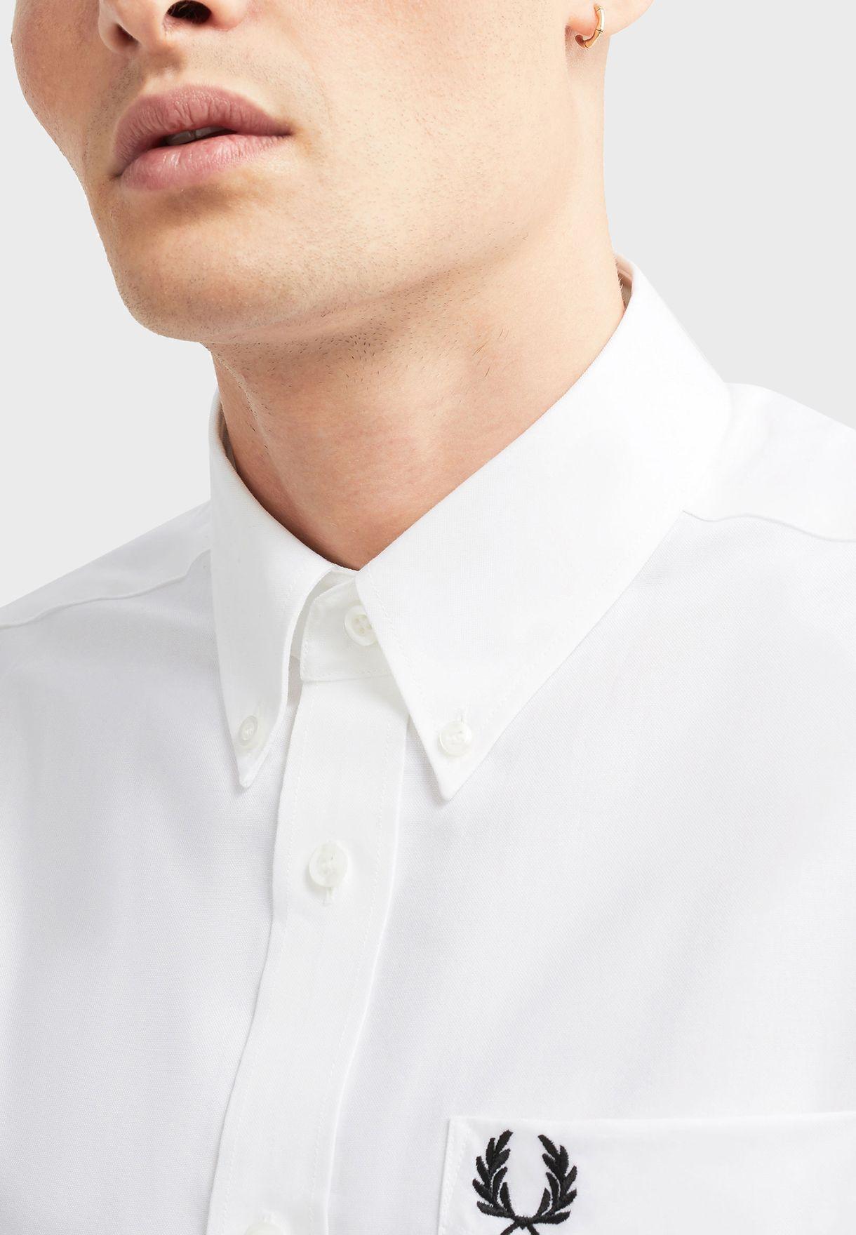 قميص اوكسفورد قطني