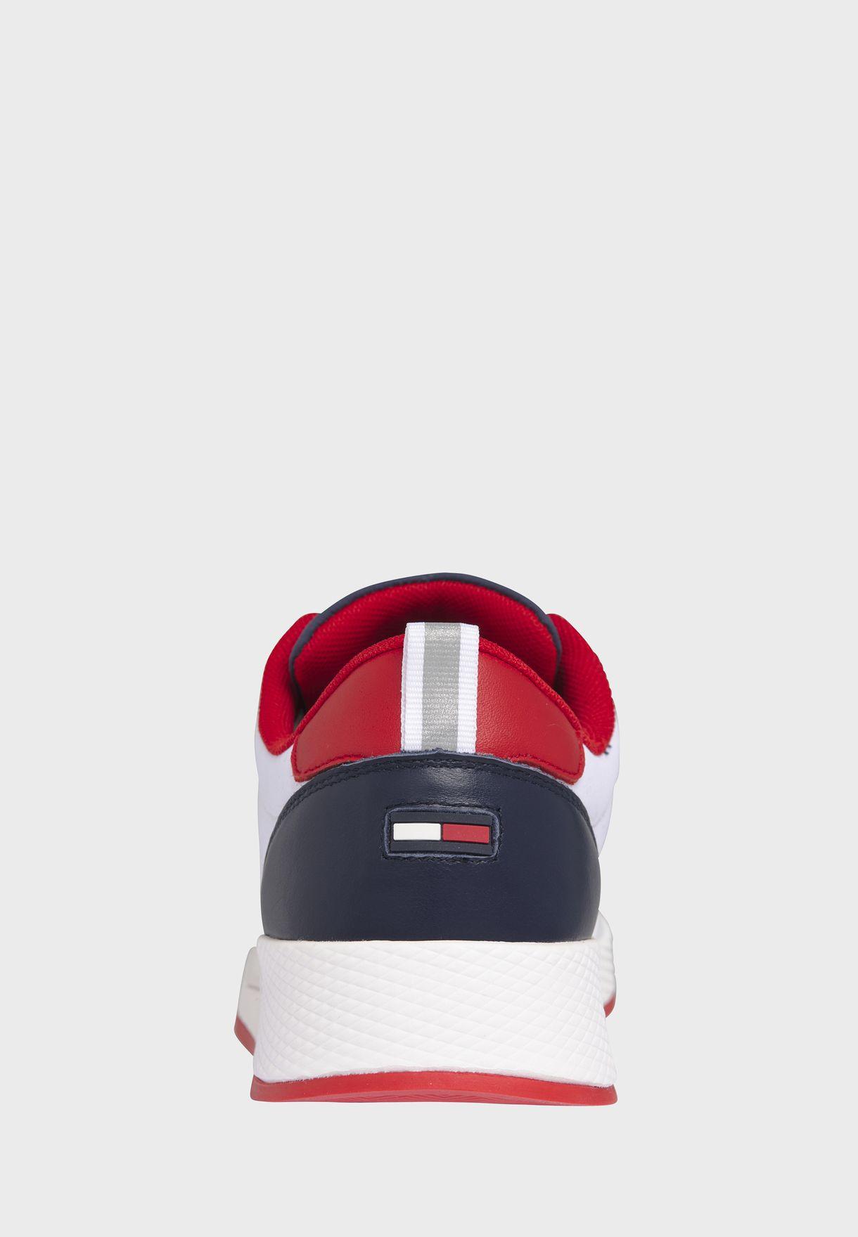 Mix Material Flexi Low Top Sneaker