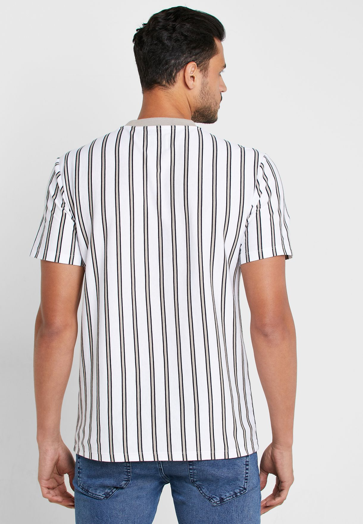 Morten Striped Crew Neck T-Shirt
