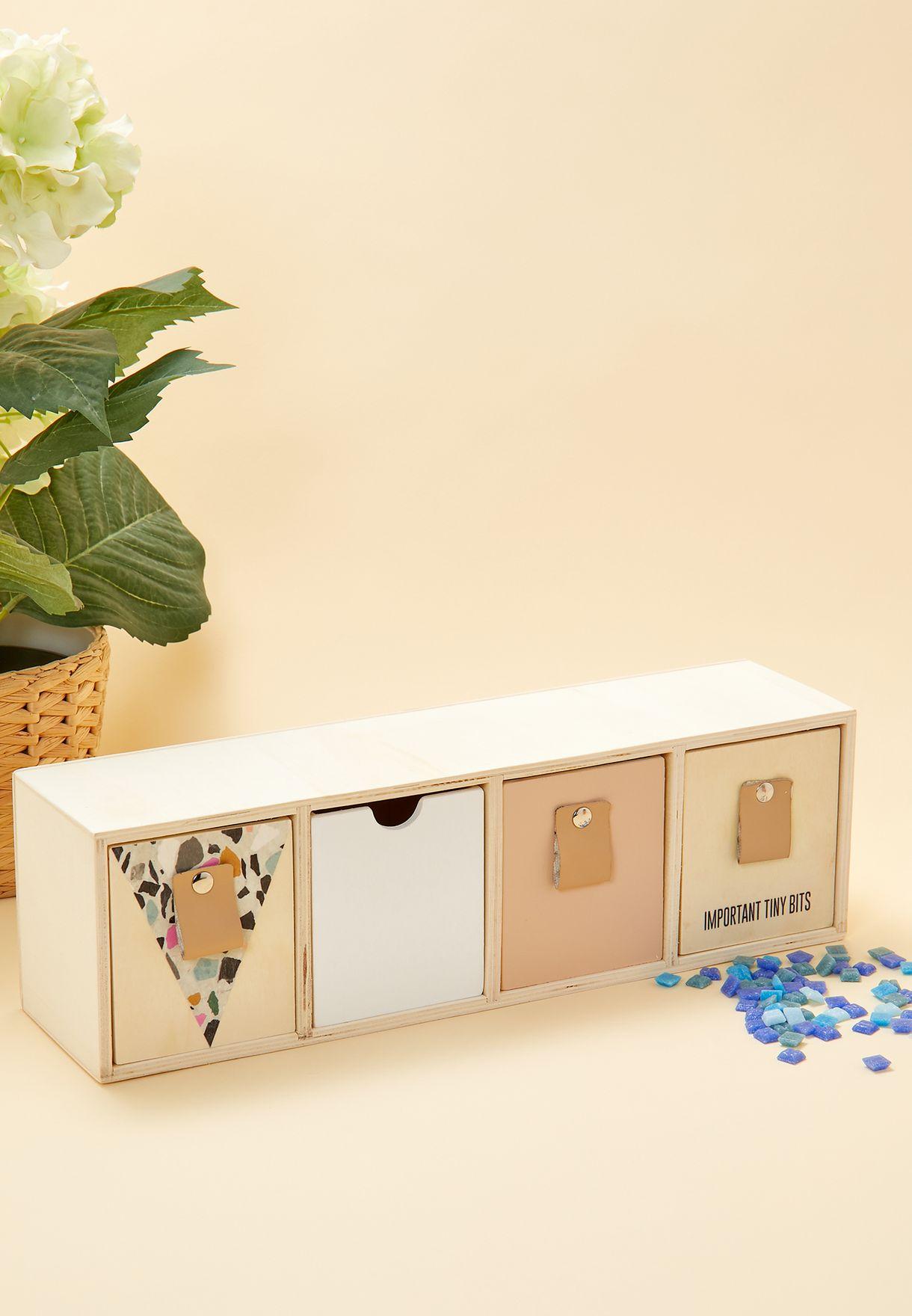 صندوق تخزين من 4 وحدات