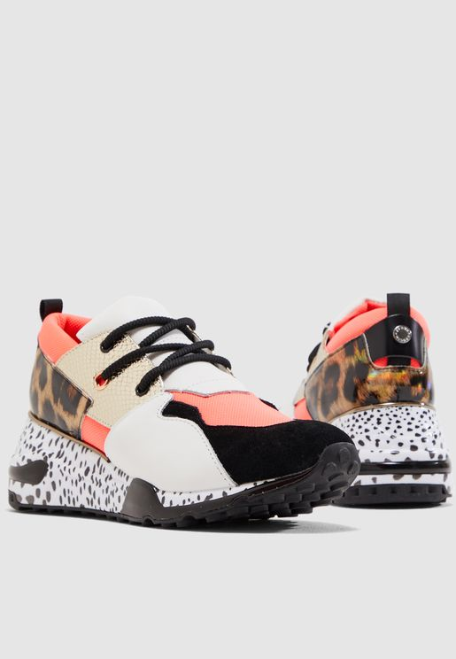 30fd2529204 Cliff Chunky Sneaker - Coral Multi