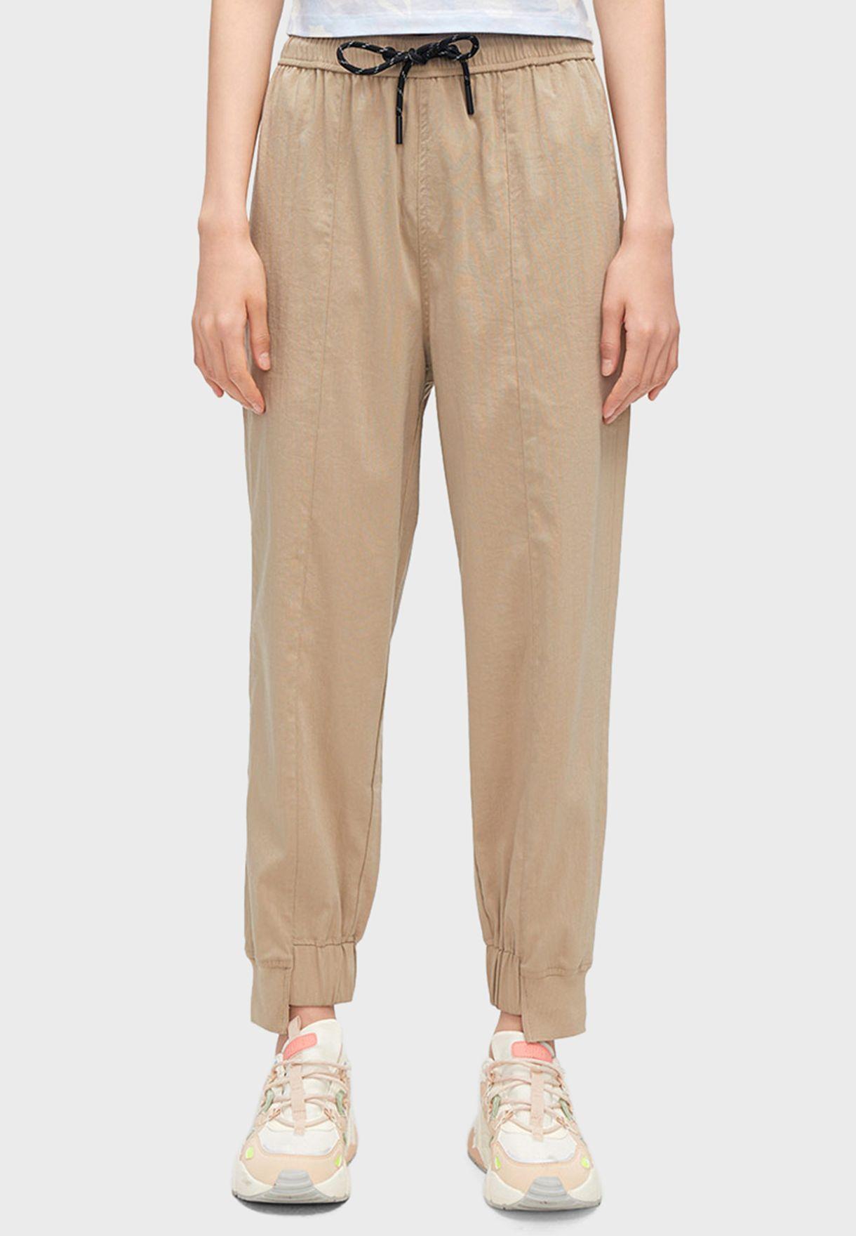 Cuffed Jogger Pants