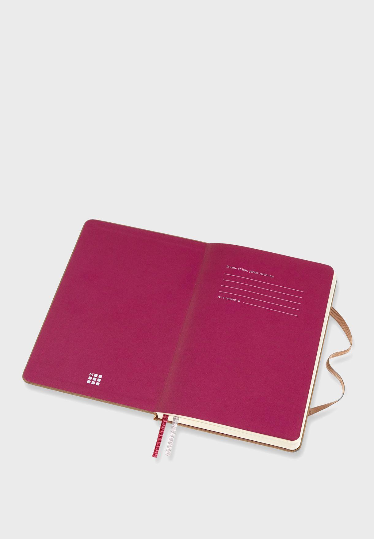 دفتر ملاحظات بغلاف مقوي