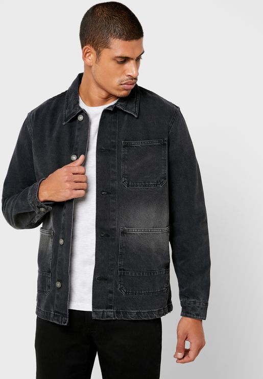Regular Fit  Denim Overshirt