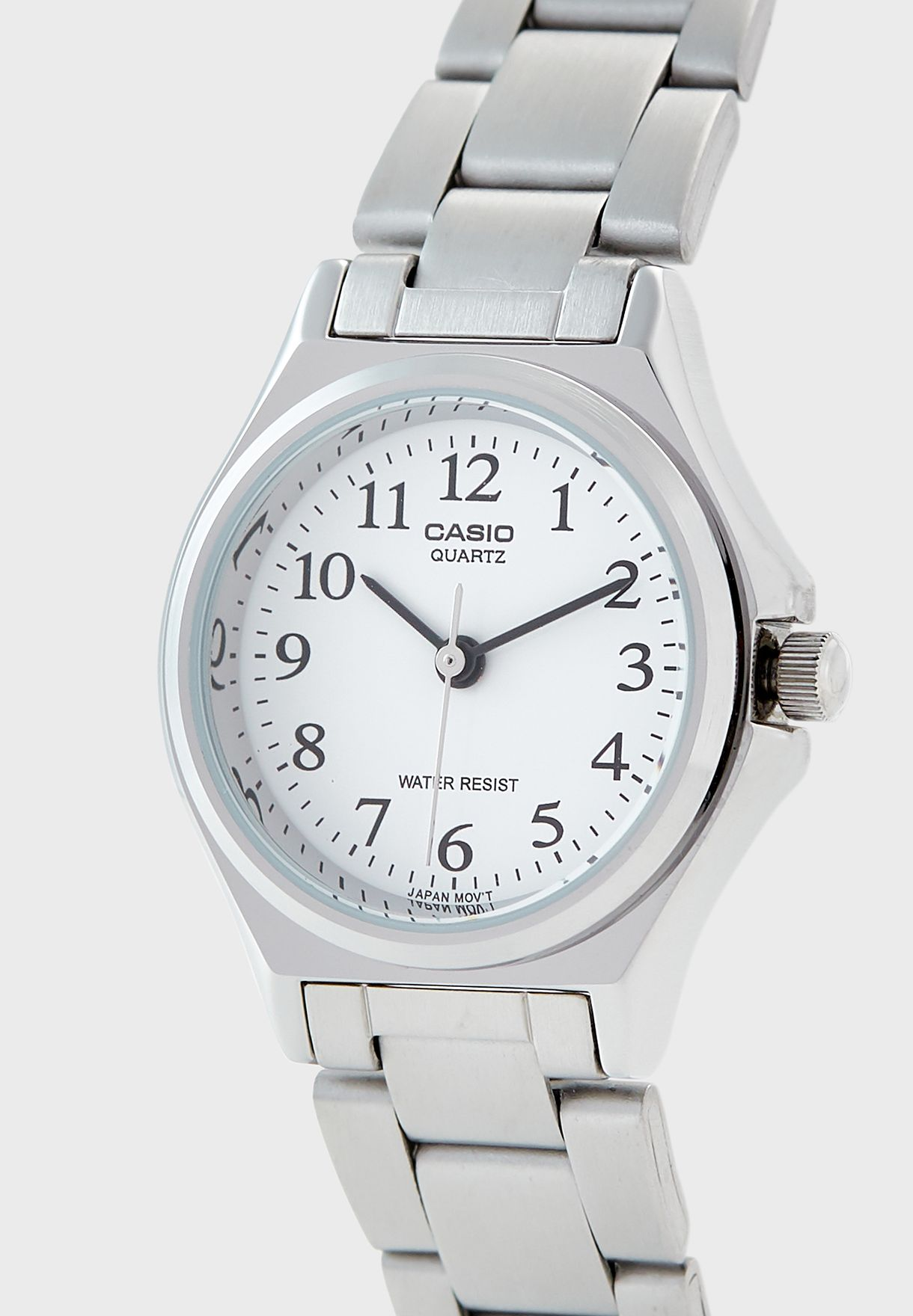 Steel Strap Analog Watch
