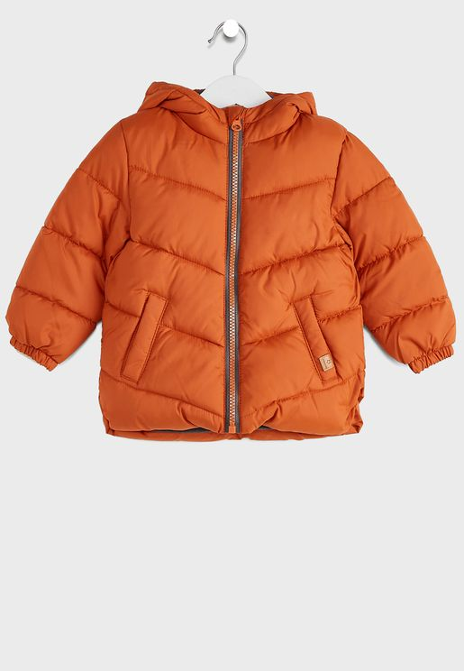 Infant Puffer Hooded Jacket