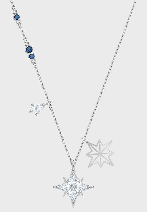 Swa Symbol Star Pendant Necklace