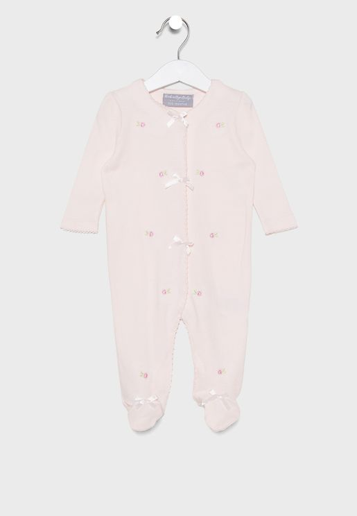 Infant Embroided Romper
