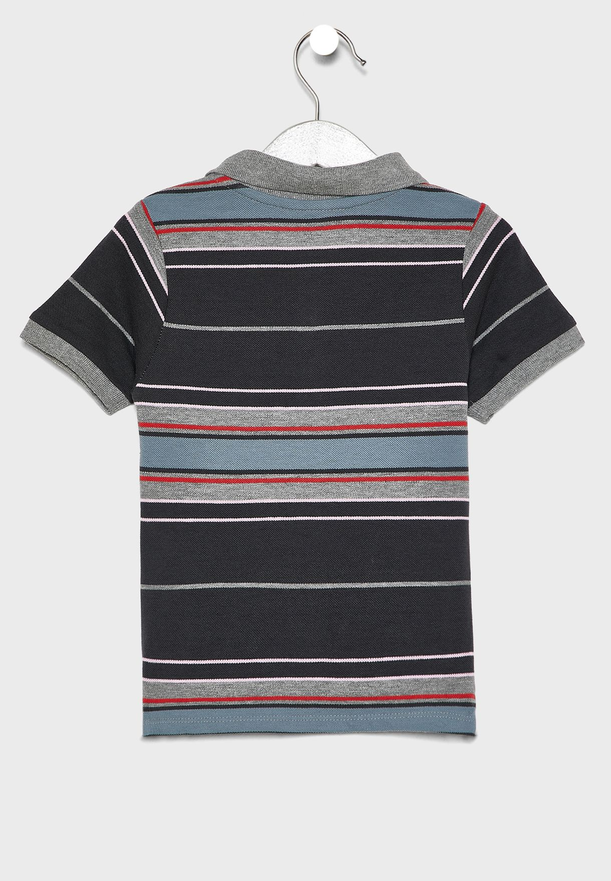 Kids Stripe Polo