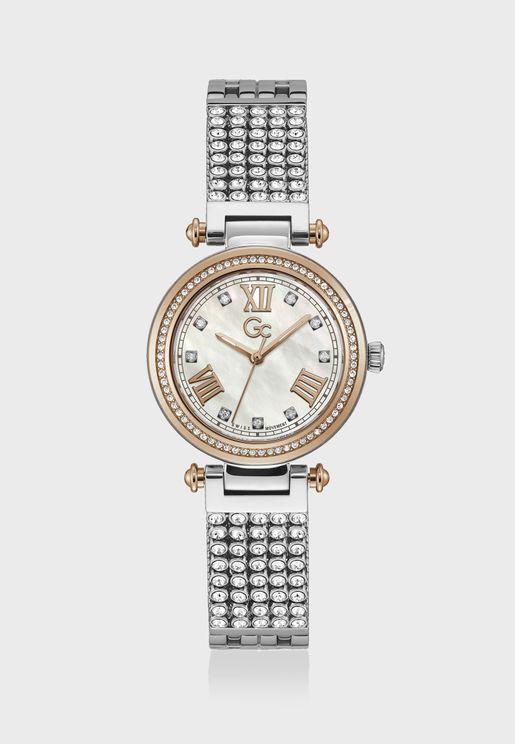 Primechic Mid Size Metal Strap Watch