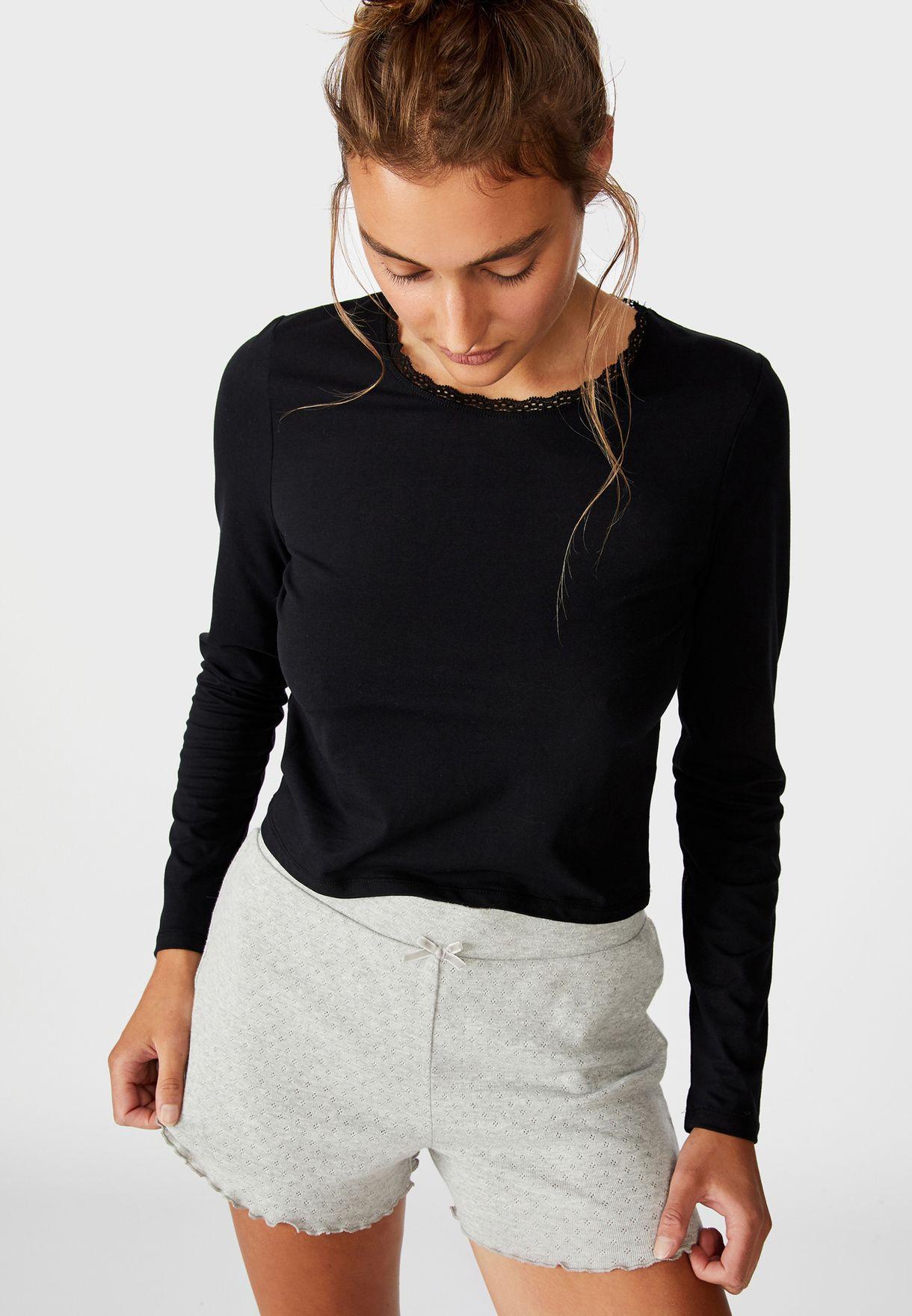 Pyjama Jersey Top