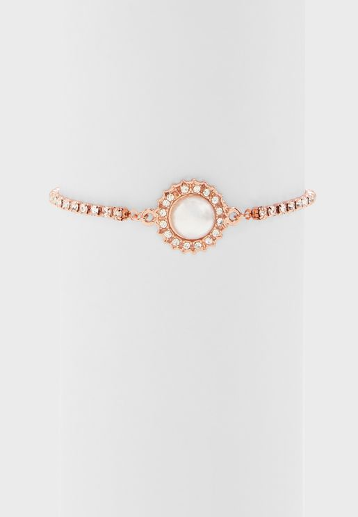 Diamante Pull Tie Bracelet