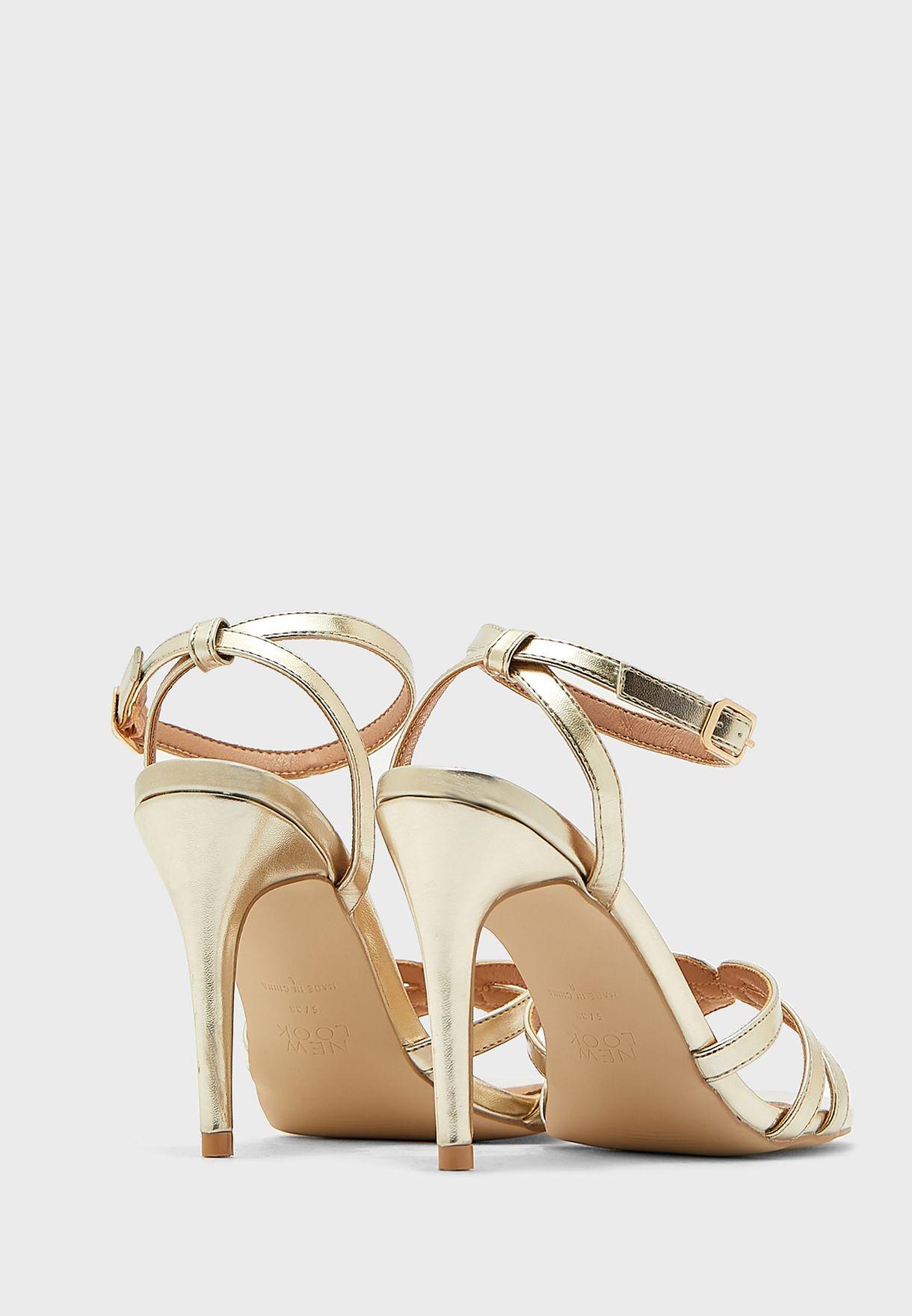 Casual High-Heel Sandals