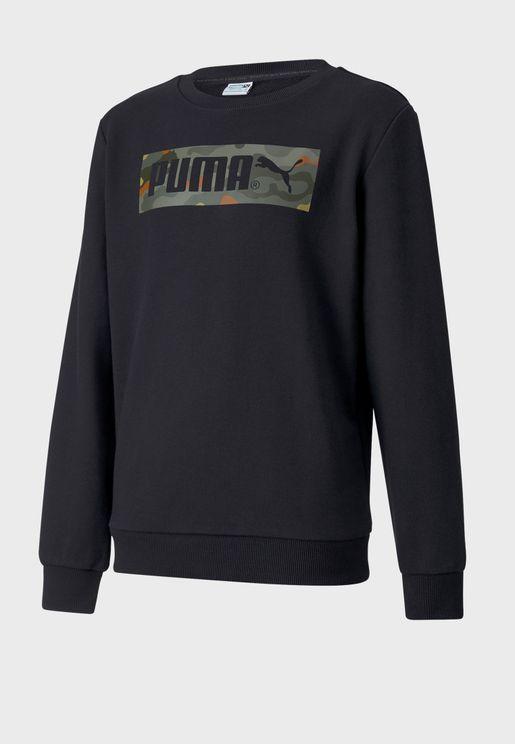 Kids Classics Graphic Sweatshirt
