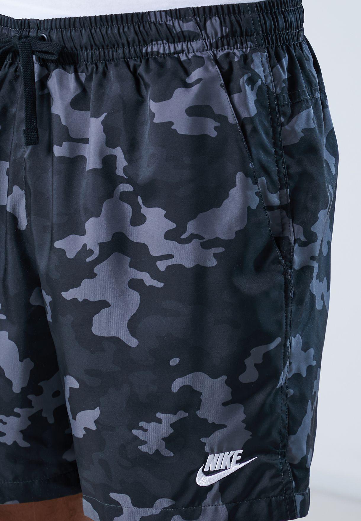 NSW Flow Camo Woven Shorts