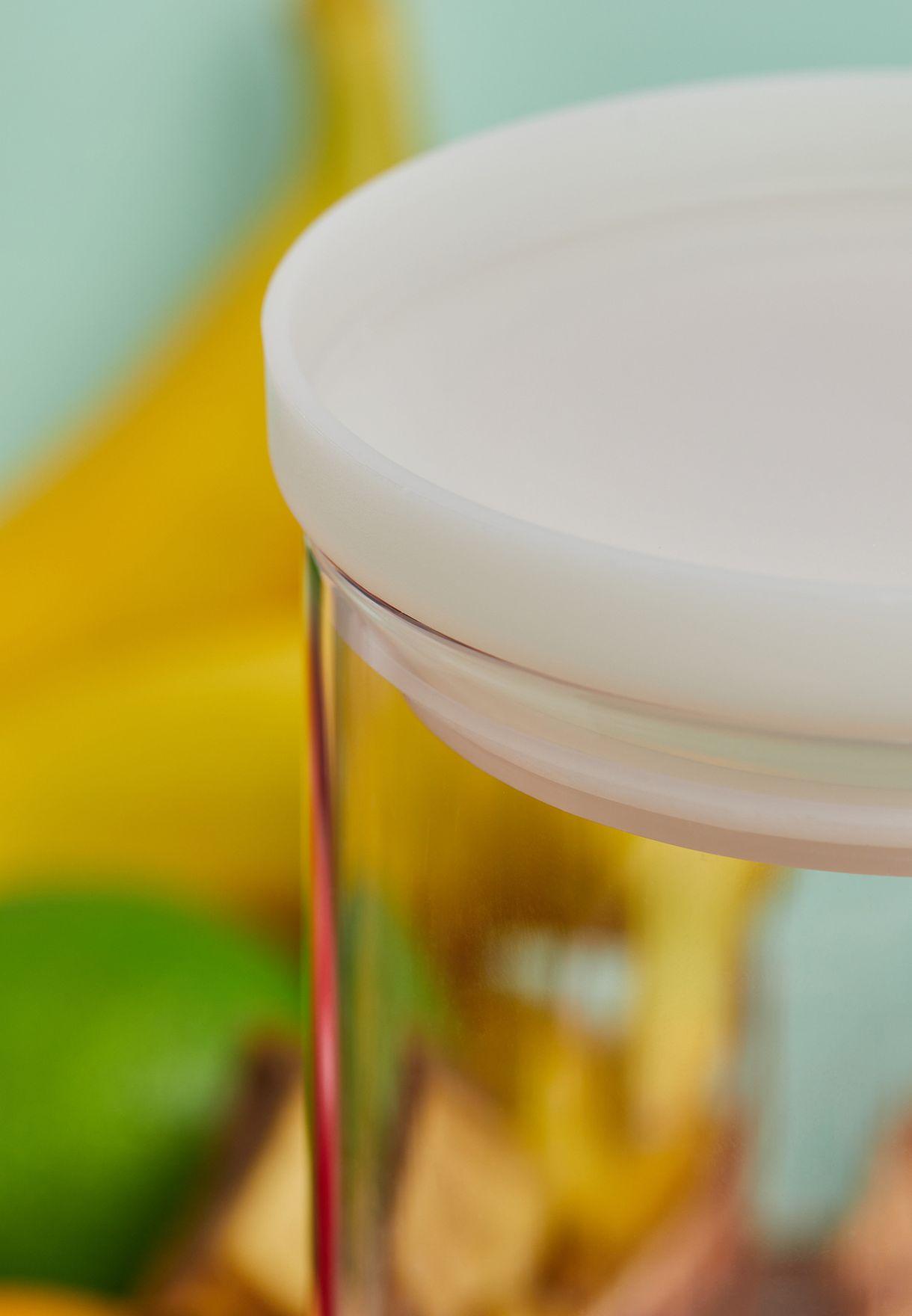 Heat Proof Glass Round Storage Case