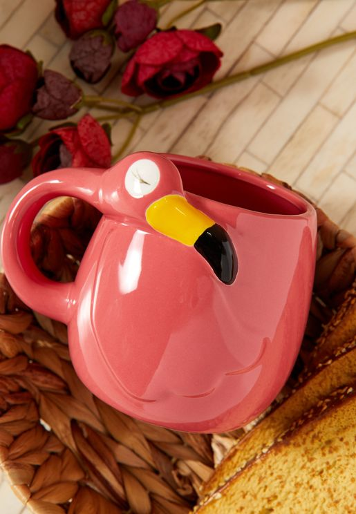 Flamingo Shaped Mug