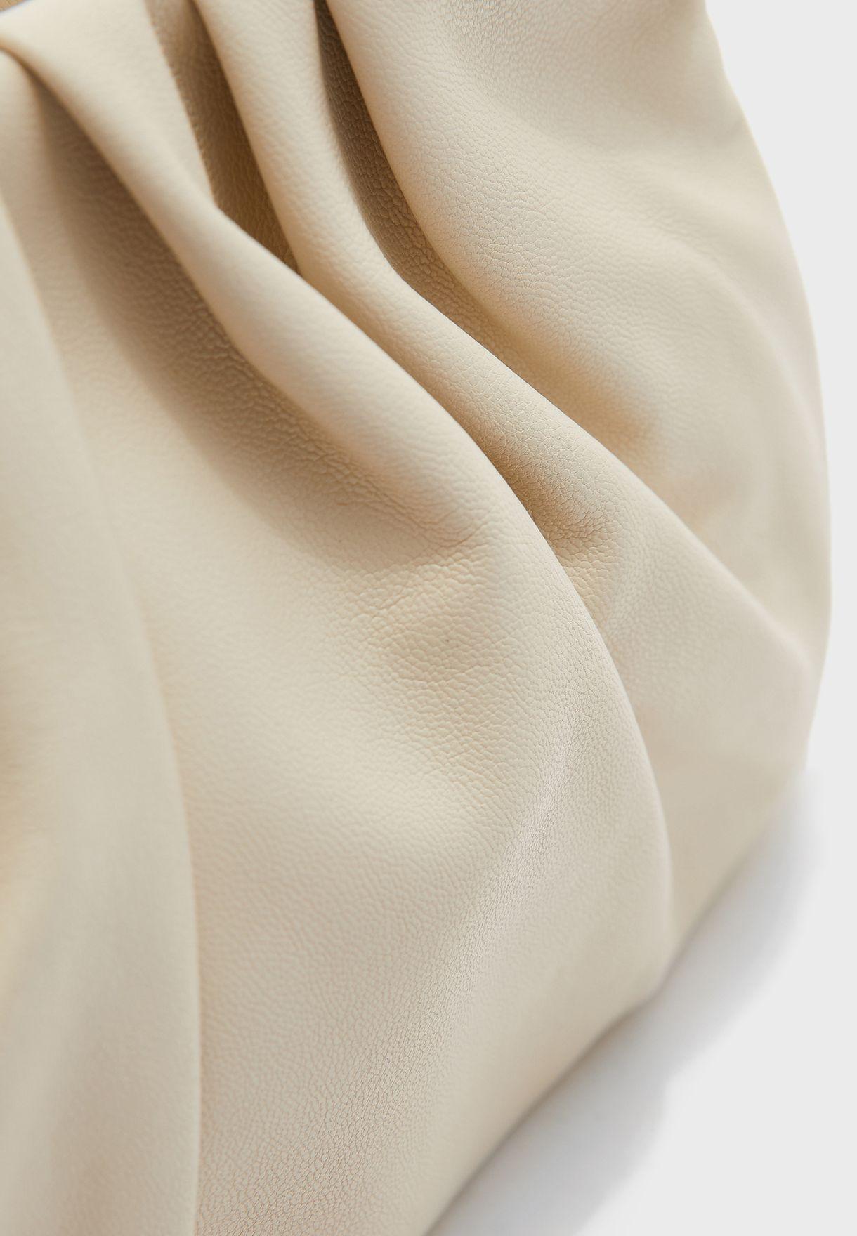 Soft Rouched Shoulder Bag