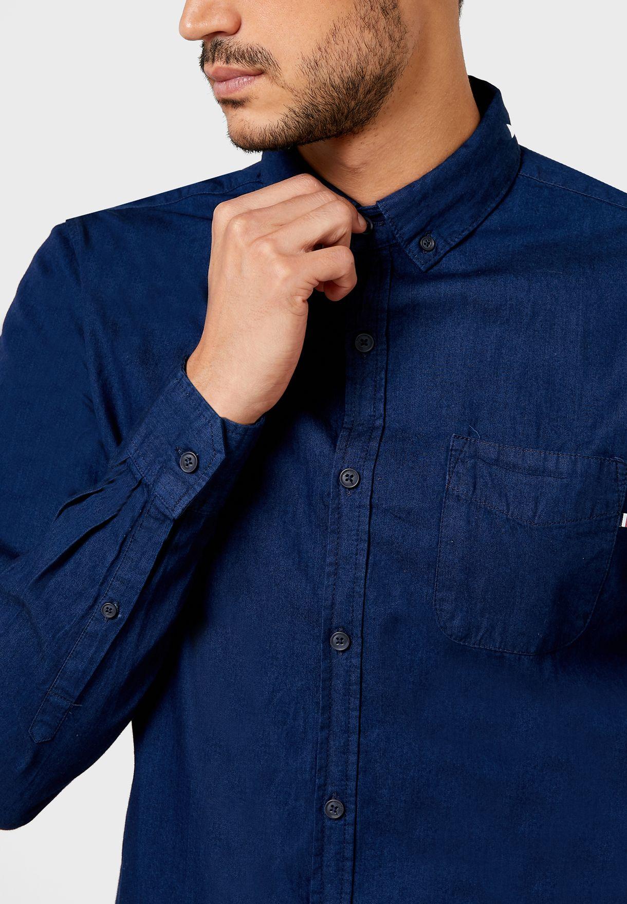 Brunswick Regular Fit Denim  Shirt